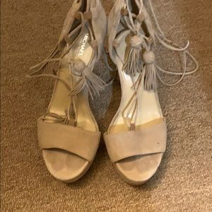 Michael Kors gladiator style heels